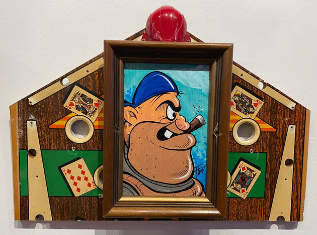 """Baseball"" by William 'Bubba' Flint $150"