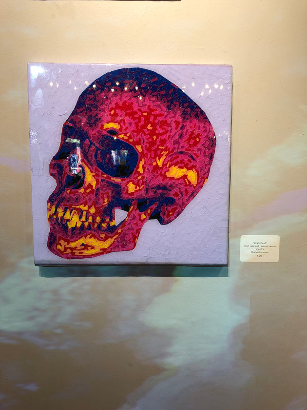 """Bright Skull""  by Chance Foreman"