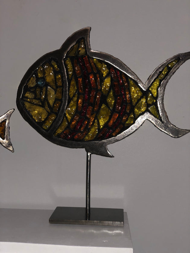 """Fishes #2"" by Pascale Pryor"