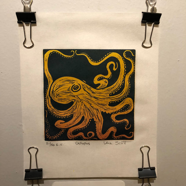 """Octopus"" by Una Scott"