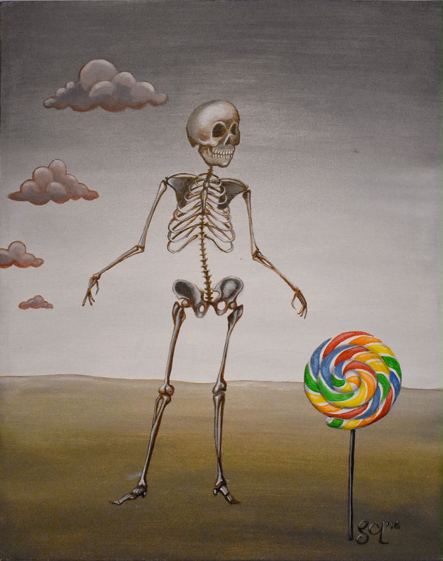"""Lollipop"" by Sarah Curl-Larson $155"