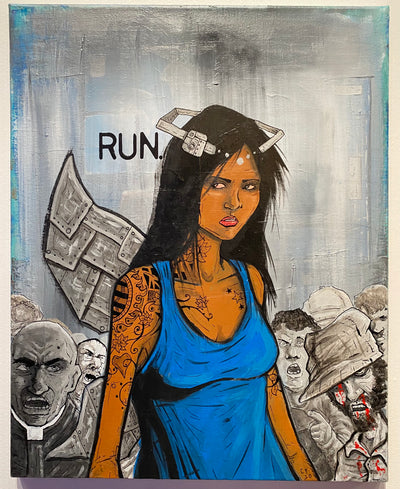 """RUN"" by Chase Fleischman $125"