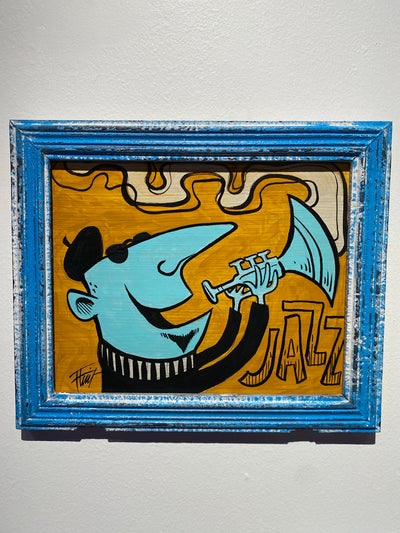 """Jazz"" by William 'Bubba' Flint $75"