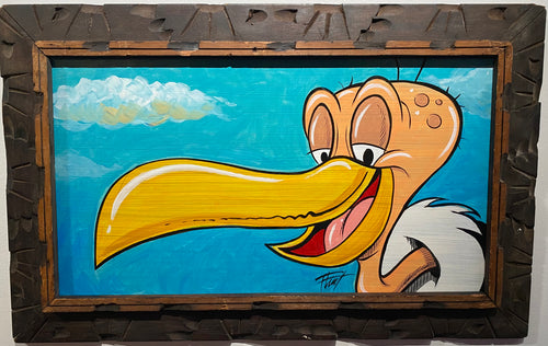 """Beaky Buzzard"" by William 'Bubba' Flint $145"