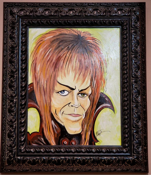 """Bowie"" by William Bubba Flint"
