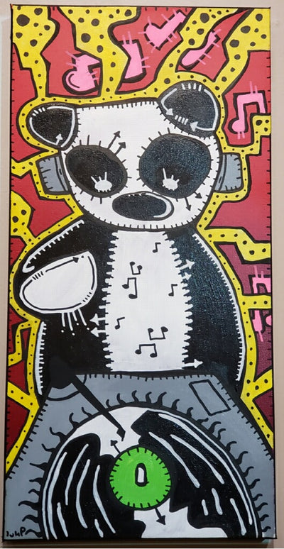 """Panda DJ"" by Matt Lumpkins"