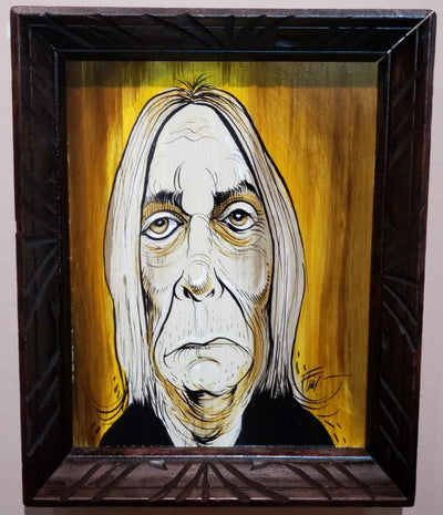 """Iggy Pop"" by William Bubba Flint"