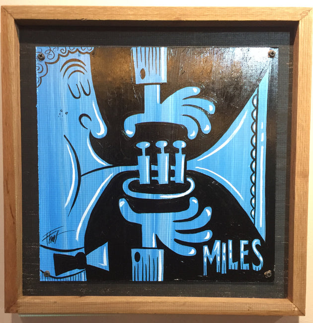 """Miles"" by William ""Bubba"" Flint  $100"