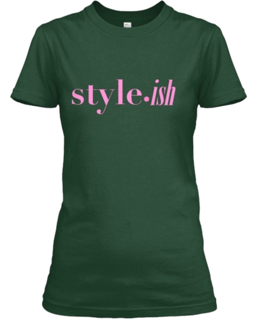 style•ish Tee - Forest Green