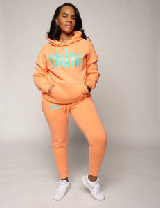 SBDNC Signature Jogger Set - Peach