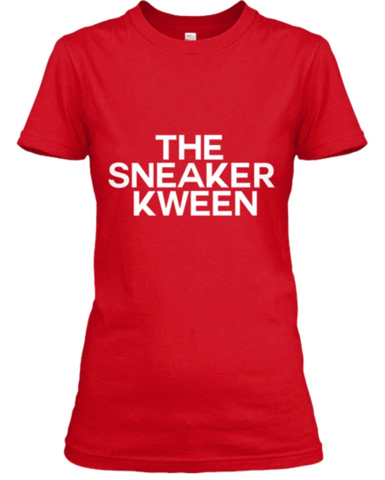 The Sneaker Kween Tee - Red