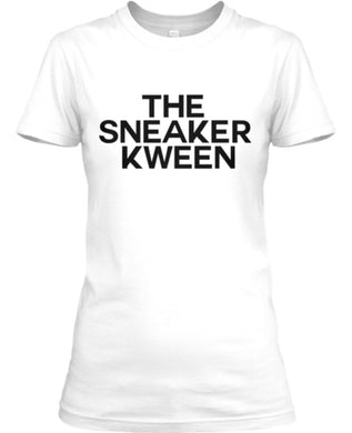 The Sneaker Kween Tee - White