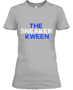 The Sneaker Kween Tee - Grey