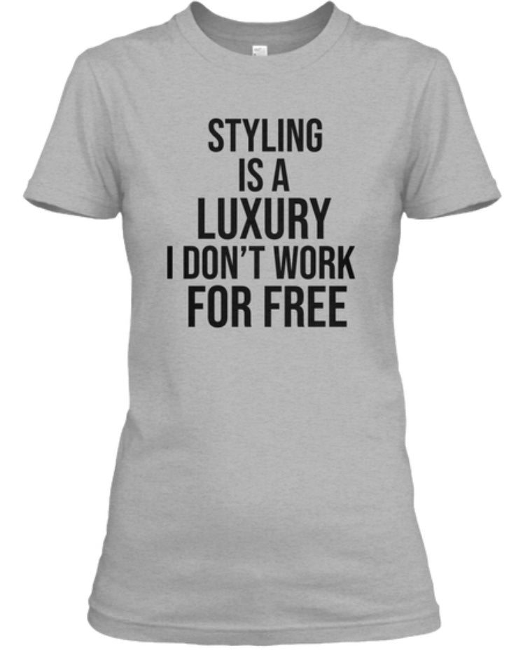 For Free Styling Tee - Grey