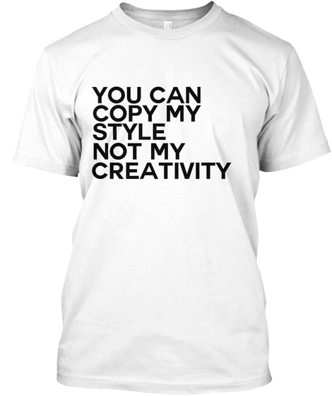 Can't Copy Tee - White (Unisex)