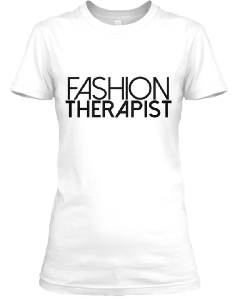 Fashion Therapist Tee - White
