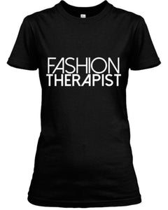 Fashion Therapist Tee - Black