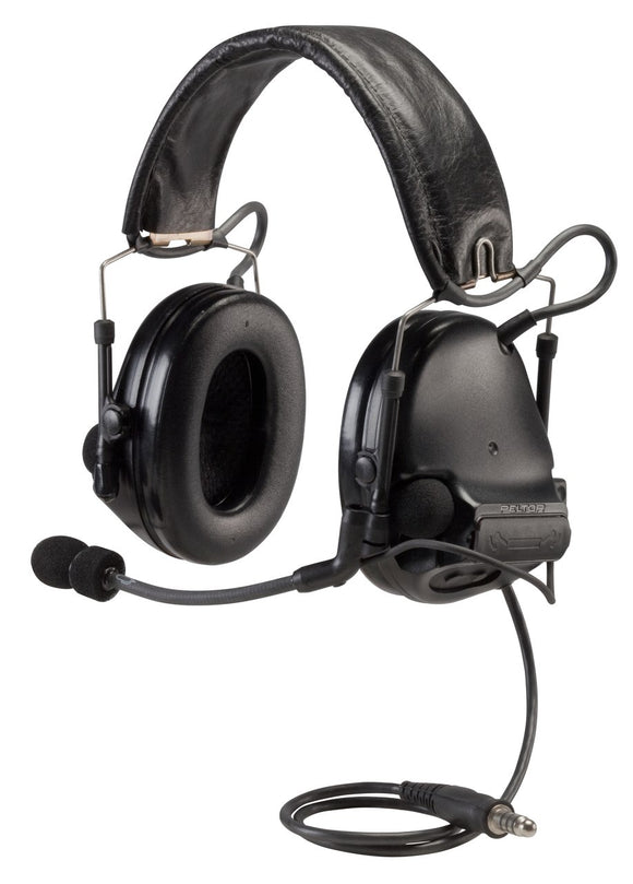 3M Peltor SWAT-TAC MT17H682FB-47 SV Headset - SINGLE COMM / BLACK / Headband