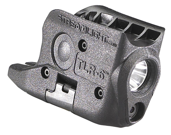 Streamlight 69274 TLR-6 KAHR Arms Black Tactical Light, w/Red Aiming Laser