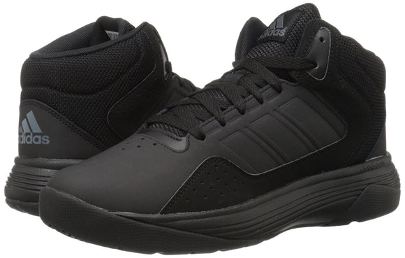 Adidas AW4651 Men's Cloudfoam Ilation Mid Core Black/Onix Basketball Shoes
