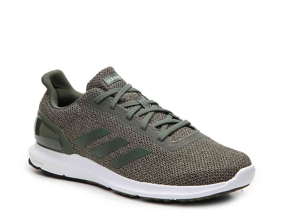 Adidas B44733 Men's Cosmic 2 Lightweight Running Base Green / Trace Khaki Shoes