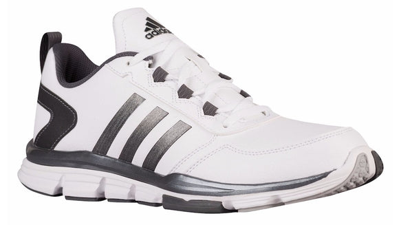 Adidas B54349 Men's Speed Trainer 2 Shoes, White/Carbon Metallic