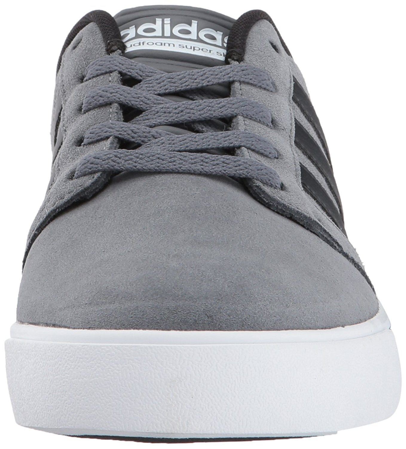 Adidas CG5744 Men's Cloudfoam Superskate Grey Four/Core Black/Timber Sneakers