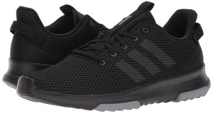 Adidas DB1303 Men's CloudFoam Racer Trail Running Core Black / Grey Three Shoes