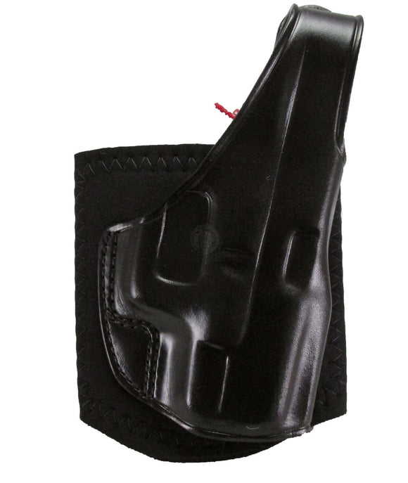 Galco AG600 Ankle Glove - Glock 42 / Right Hand / Black