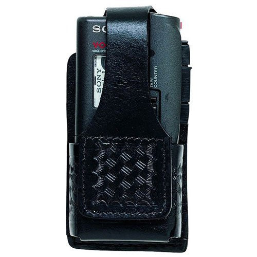 Aker 601 Universal Recorder Holder, Black/Basketweave