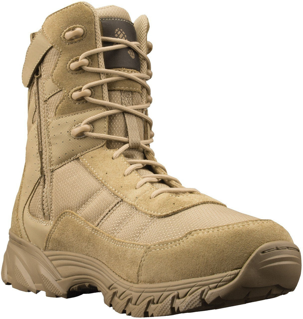 "Altama 305302 Men's Vengeance SR 8"" Side Zip Boots, Tan"