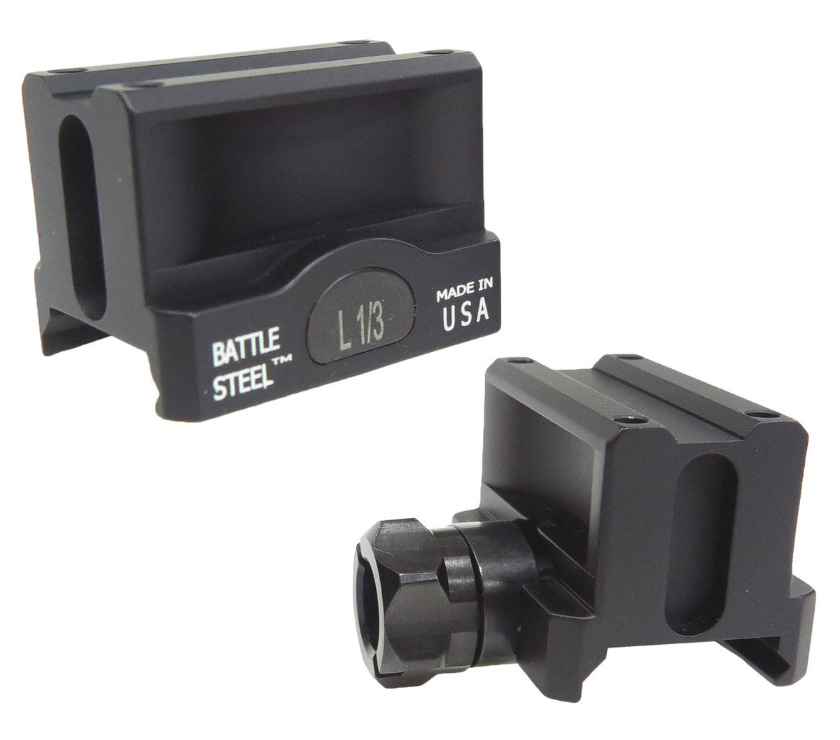 Battle Steel Trijicon MRO Full Co-Witness Mount
