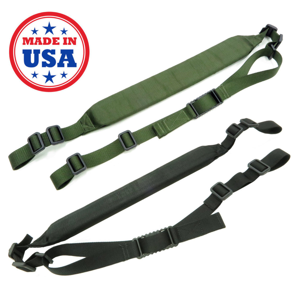 Battle Steel Quick Adjust Padded Sling X-Wide Padding