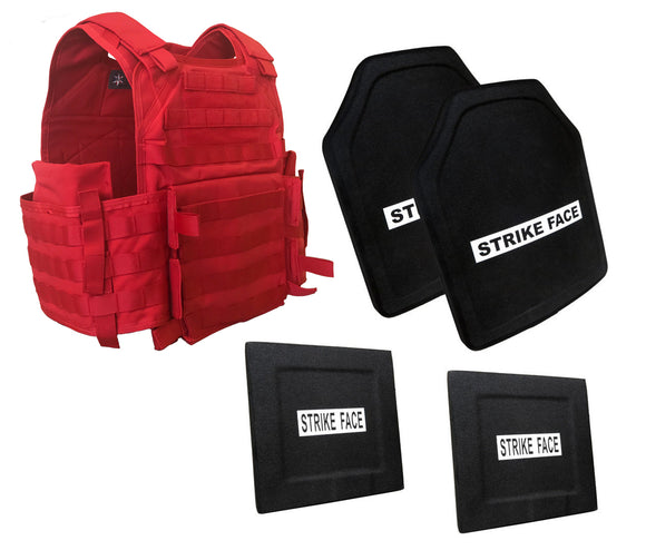 Battle Steel Level III+ Firemen's/Instructor Ballistic PackageDeal w/Side Plates