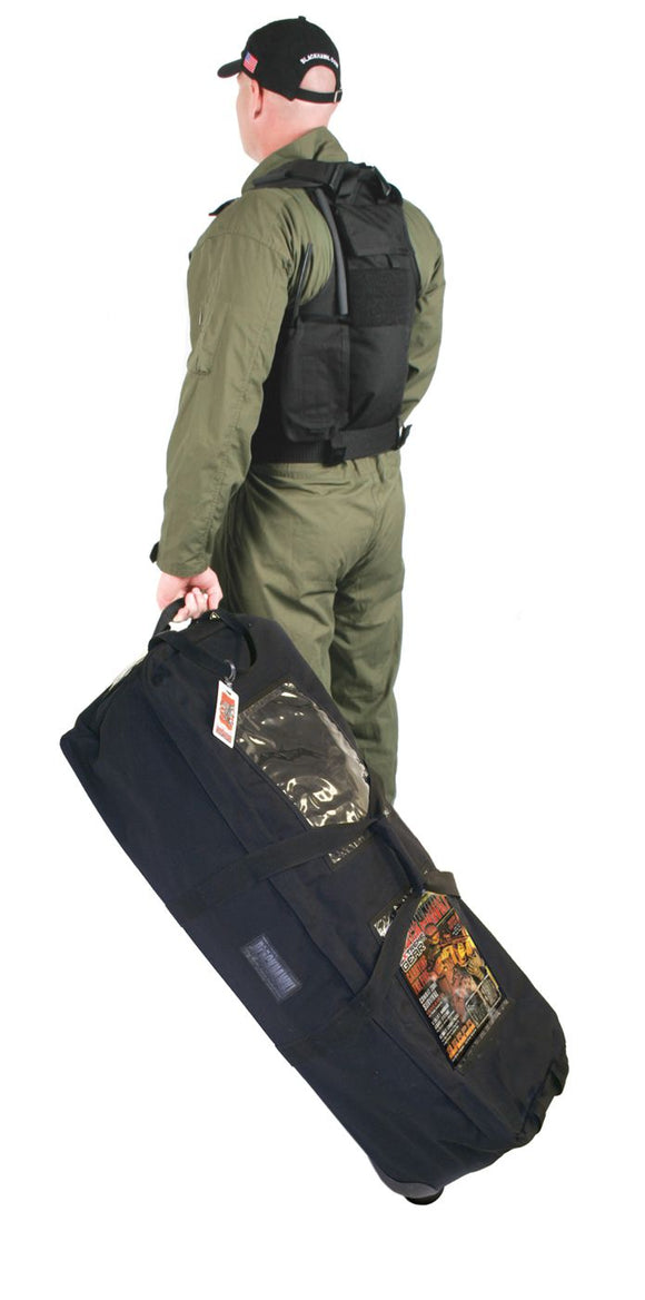 Blackhawk 20LO03BK ALERT Load Out Bag w/ Wheels