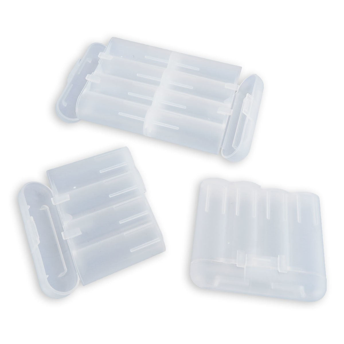 Battery Storage Protective Case Holder 4/Pack