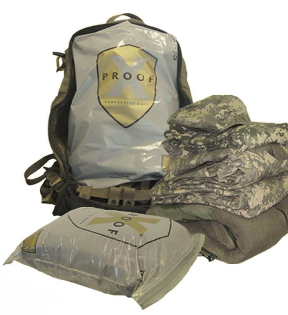 ITW X-Proof X-Large 17x22x5 Inch Waterproof Pack Bags - 10/Pack