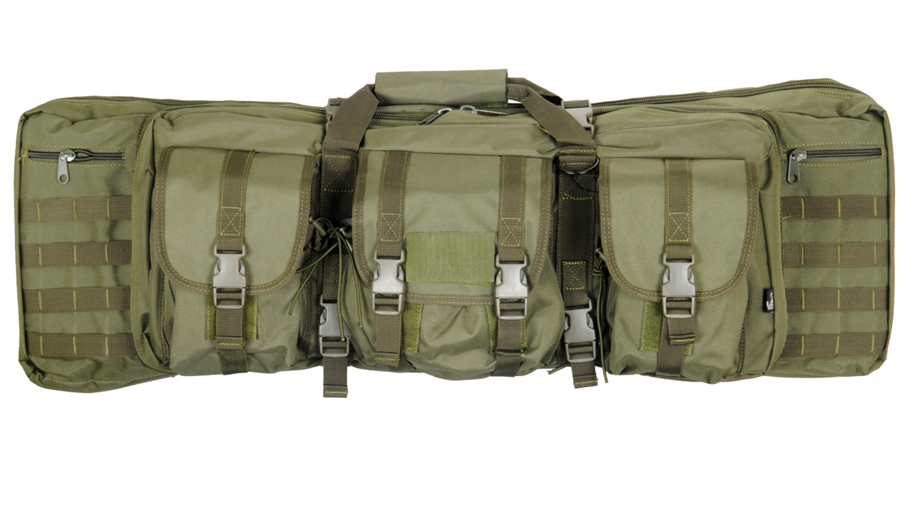 "Lancer Tactical CA 36"" MOLLE Double Carbine Rifle Case Backpack"