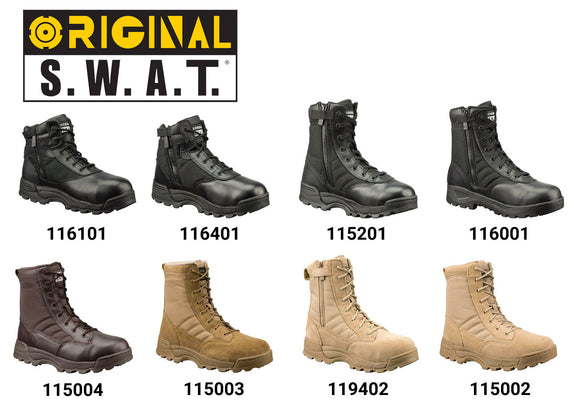 Original SWAT Classic Men's Boots - Multiple Styles