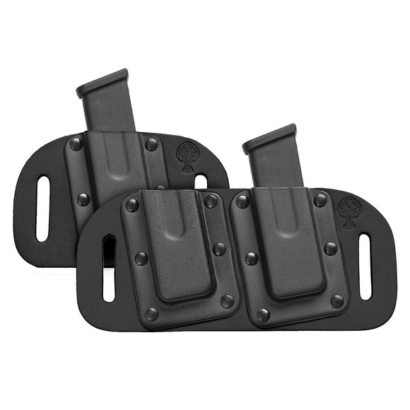 CrossBreed OWB Mag Carrier Cowhide Black Left Hand Holsters