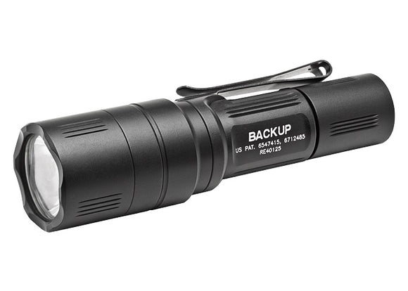 Surefire EB1C-B-BK EB1 Backup Tactical Flashlight, Black