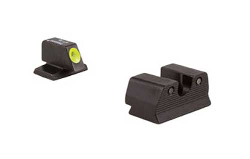 Trijicon HD High Definition Front Outline Night Sight, FNH .45ACP - Yellow