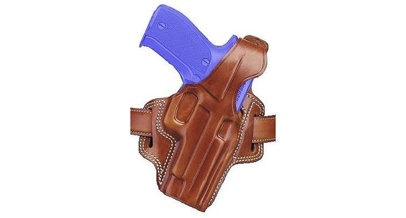 Galco Fletch High Ride Belt Holster Brown
