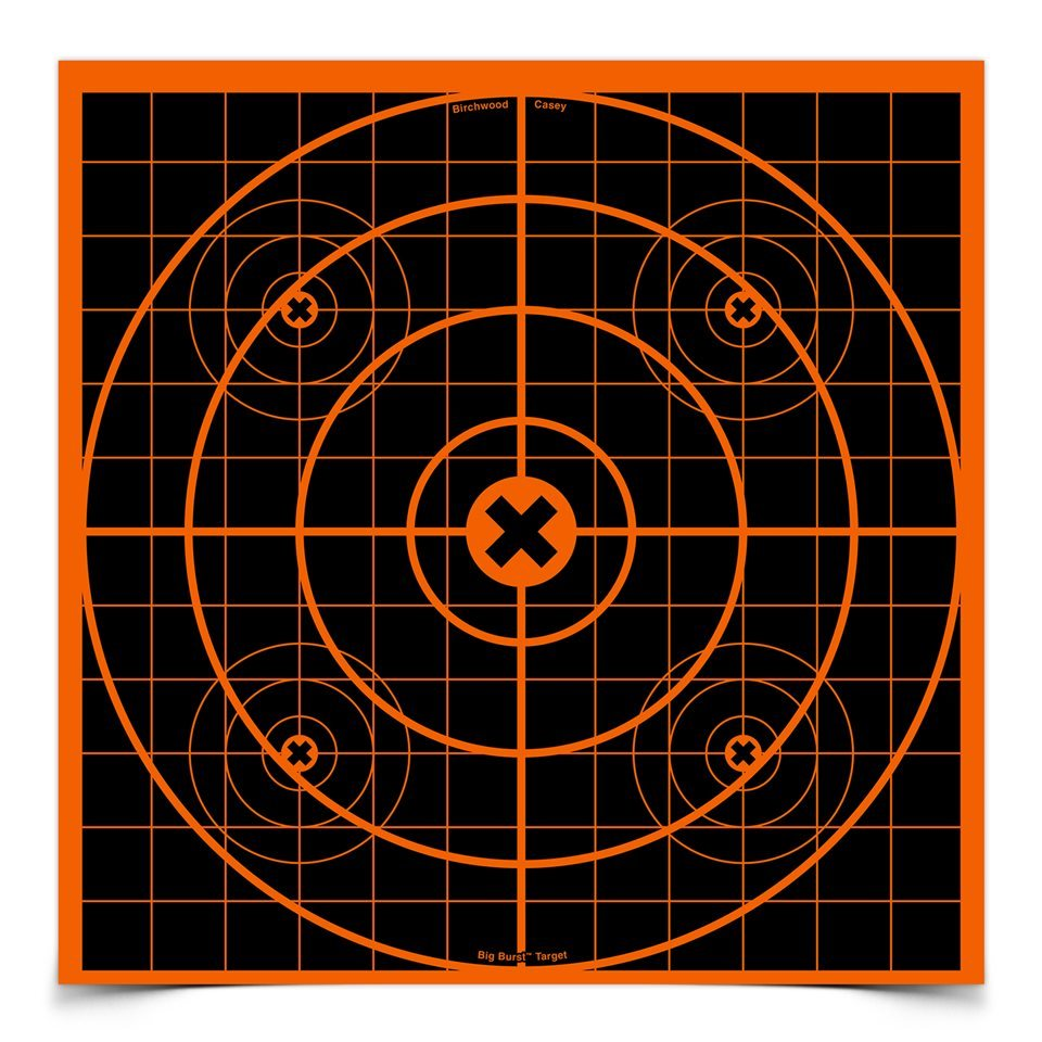 "Birchwood Casey 36213 Big Burst 12"" Sight In Targets - 3 Targets"