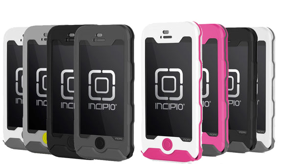 Incipio Atlas Waterproof Ultra-Rugged Case for iPhone 5/5s - Multiple Colors