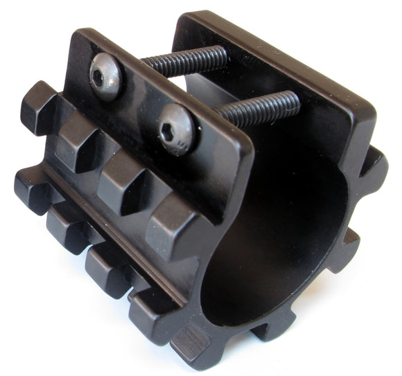 Battle Steel 3 Rail 5-Position Shotgun Tube Mount