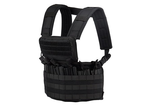 Code 11 Navigator Molle Paracord Black Chest Rig