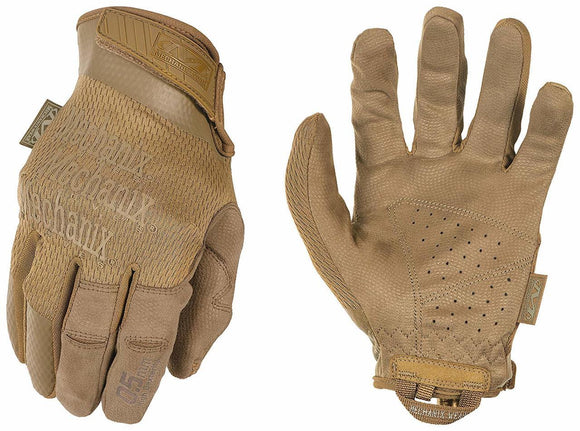 Mechanix Specialty 0.5mm Shooting Gloves, Coyote