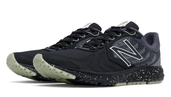 New Balance MPACEPJ2 Men's Speed Vazee Pace v2 Protect Pack Shoes, Black with Silver