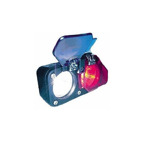 NiteRider 9312 Police Bicycle Flip Lenses, Blue/Blue